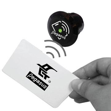 Mini Flush-Mount Standalone Access Controller - Made in Taiwan
